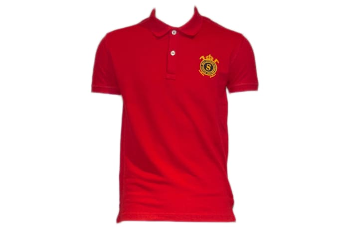 Status Quo Polo Shirt red