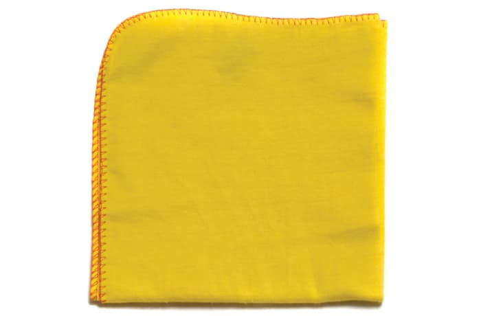 Yellow Flannel Dust Cloths