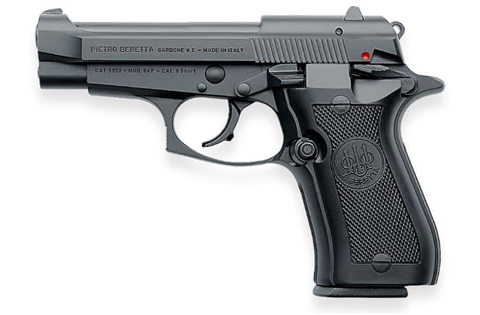 Beretta 84FS Black Pistol