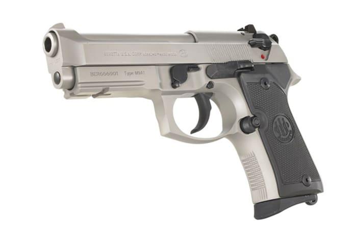 Beretta 92 Compact Inox Pistol with Rail