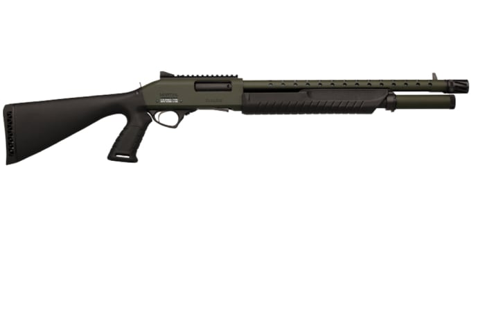 Fabarm Martial O.D. Green 18'' Shotgun