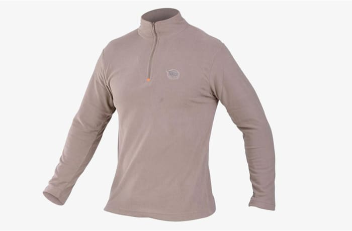 Sniper Africa Mens Khaki Fleece Top