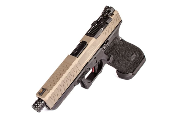 ZEV Z17 Enhanced Socom FDE Pistol