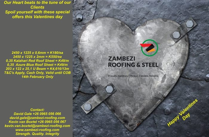 Zambezi Roofing And Steel Roofing Materials Steel