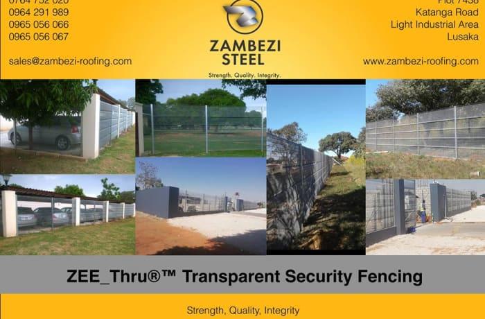 ZEE Thru Transparent Security®™ Fencing  image