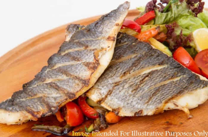Zambian Corner  - Deep Fried Bream  with Vegetables