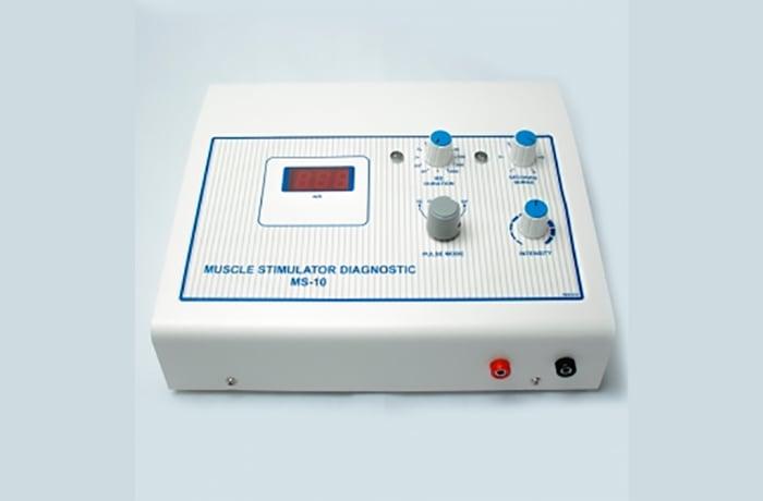 Muscle stimulator diagnostics