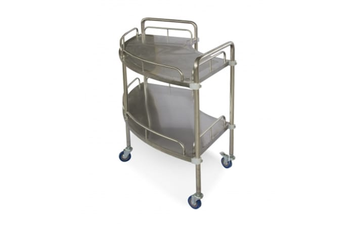 Rounds medicine trolley