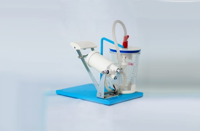 Suction Apparatus foot Operated with PC Jar (Vacumax)