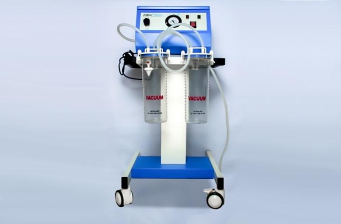 Suction machine with jar
