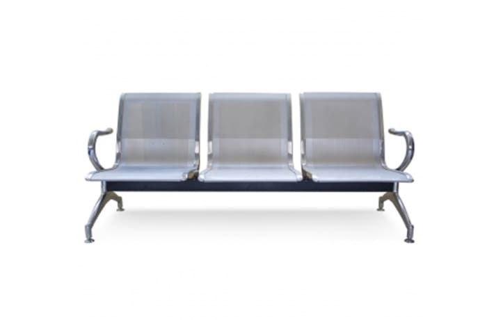 Steel Waiting Room Chair