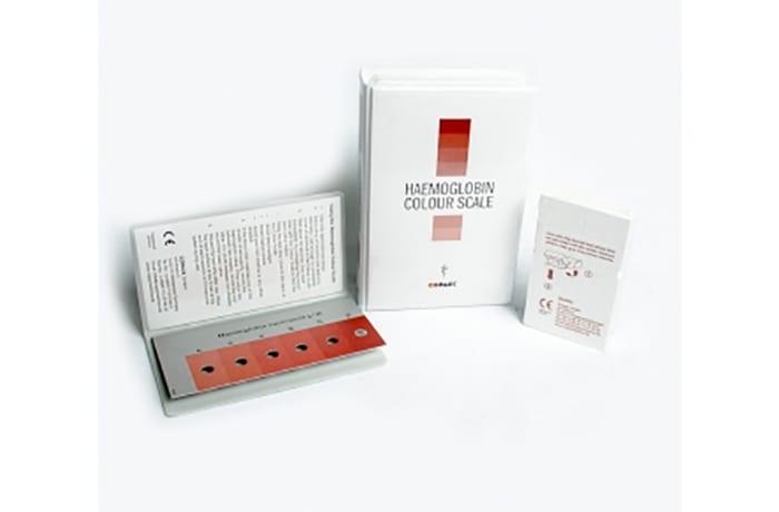 Haemoglobin colour scale starter kit