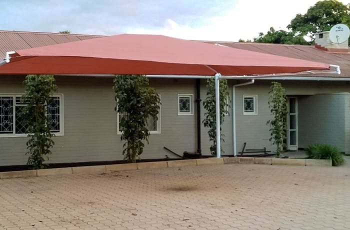 Design and construction of shades, carports, steel structures and greenhouses image