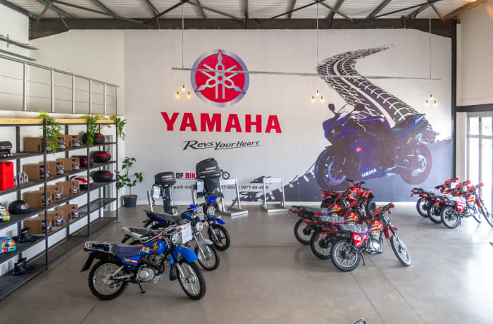Stockists of Yamaha, Lifan and Suzuki bikes image