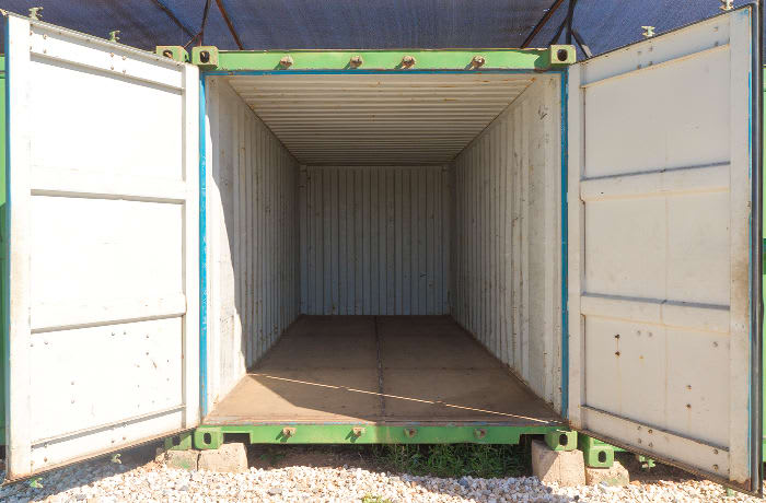 Offsite container rental image
