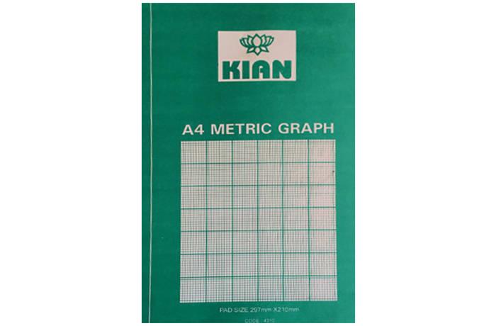 A4 Graph Pads 40 Sheet