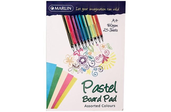 A4 Manilla board paper Pastel 25 sheets Pad