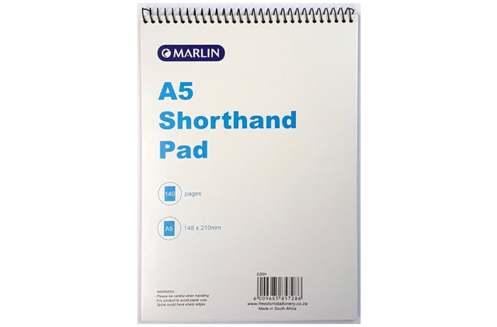 A5 SHORTHAND NOTEBOOK 140P