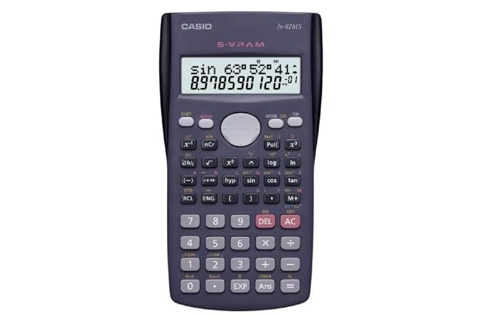Casio FX-82MS Scientific Calculator Non-Programmable