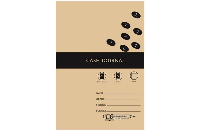 Cash Journal A4 72pg