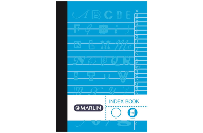 Index Book A5 192 Pg A-Z