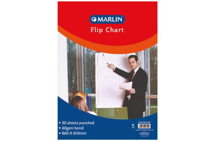 Flip chart pad 30 sheets