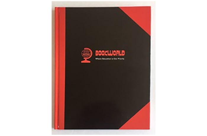 Hardcover Lined Notebook A5 192 Pages