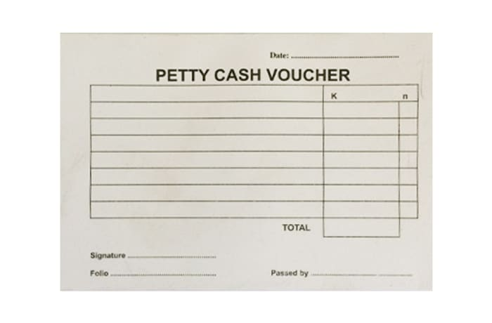 KIKI Petty Cash Voucher