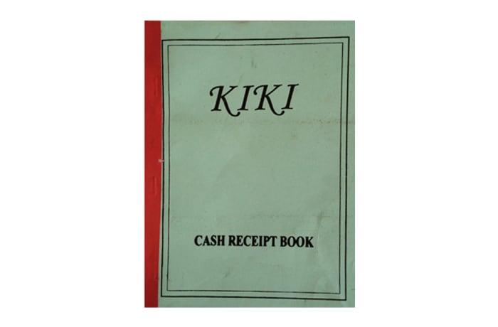 KIKI Receipt Book A5
