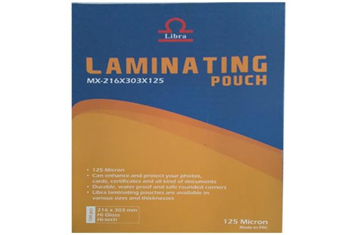 Laminating Pouches A4 125MICRON (216X303)