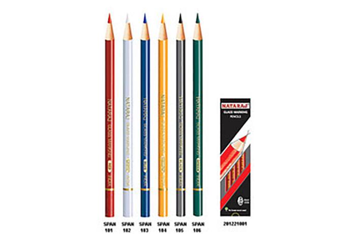 Natraj 6 Colour Pencil