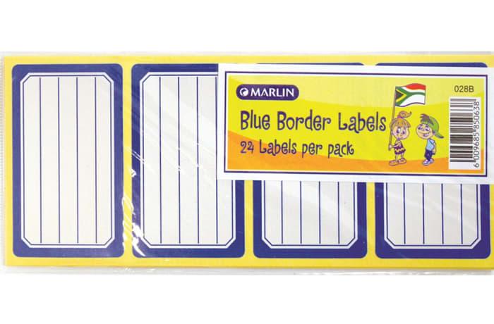 School Labels 24pkt