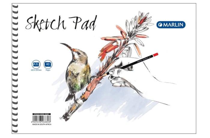 Sketch Pad A3 40pg