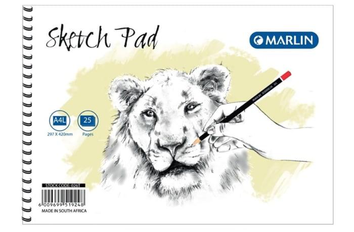 Sketch Pad A4 25pg
