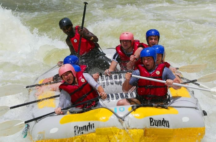 White Water Rafting on the Zambezi — Low Water Season