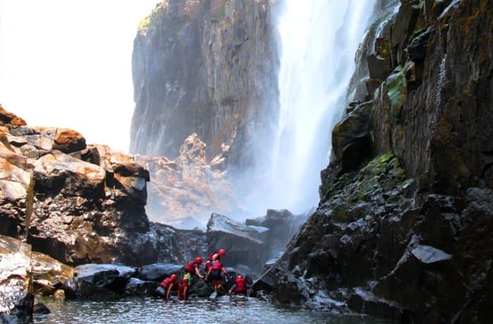 Swim Under Victoria Falls