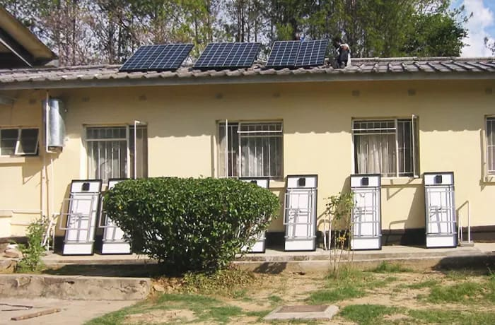 Solar modules, inverters/chargers, batteries, charge regulators and more image