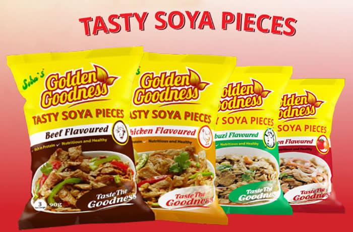 Golden Goodness Tasty Soya Pieces