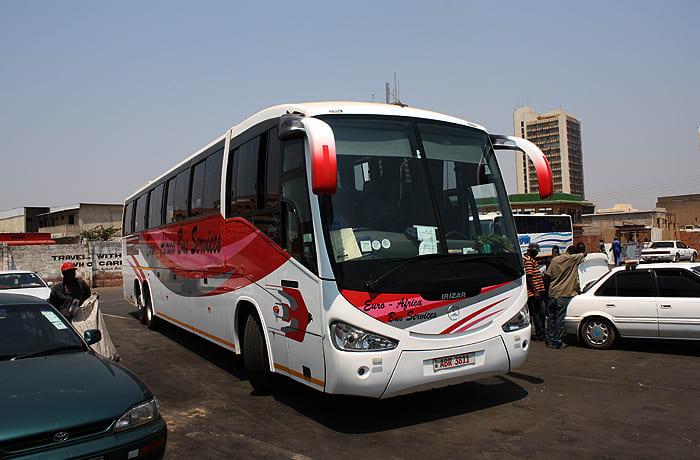 11 daily services: Lusaka to Kitwe image