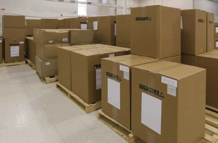 Secure and safe freight delivery services image
