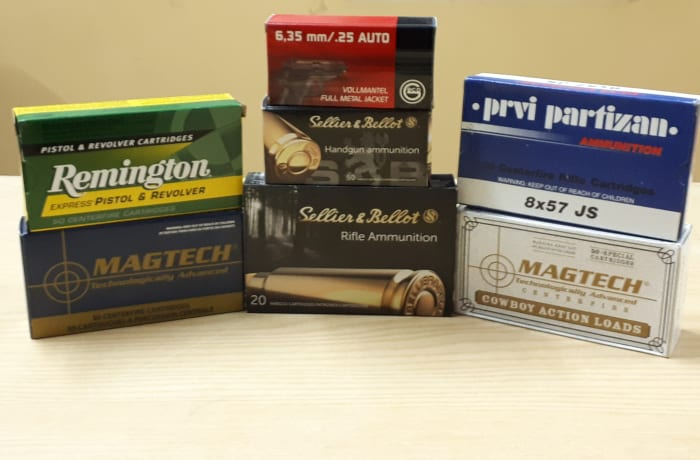 A wide selection of ammo image