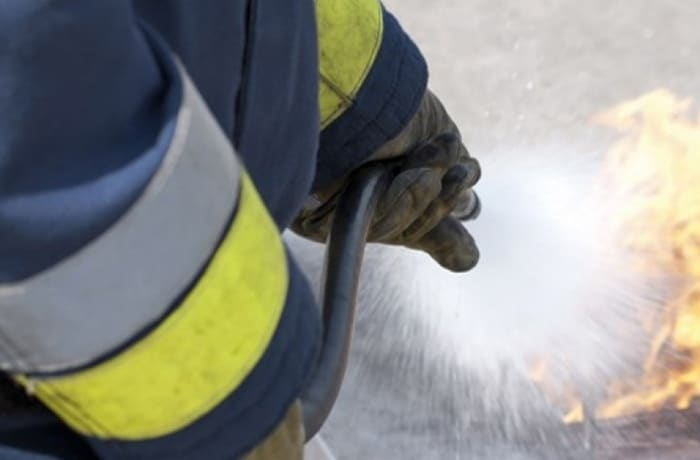 Fire health and safety image