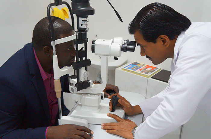 Evaluate your vision and check for diseases by having your eyes examined image