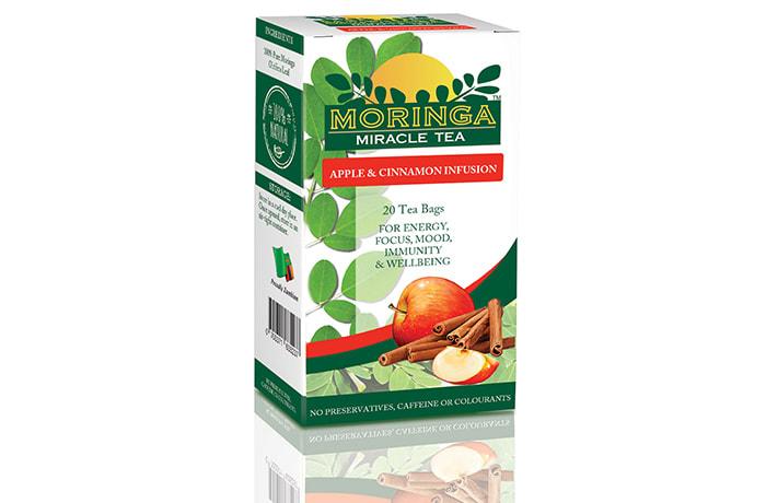 Moringa Miracle Tea – Apple and Cinnamon
