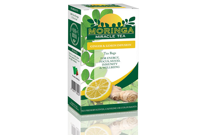 Moringa Miracle Tea - Lemon and Ginger