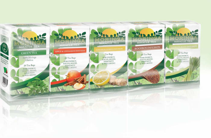 Moringa Miracle Tea pack – Variety pack