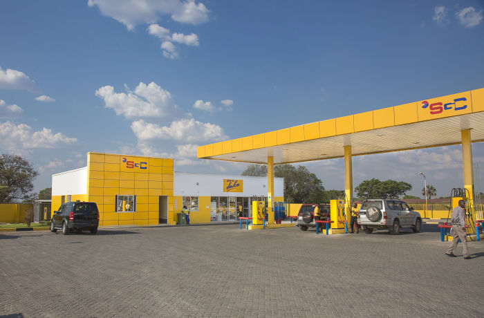 26 filling stations conveniently spread around Zambia image