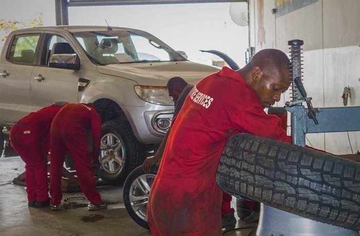 Tyre mending