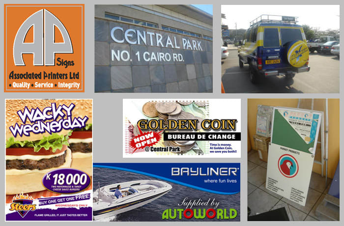 Dynamic, effective and professional signage for businesses image
