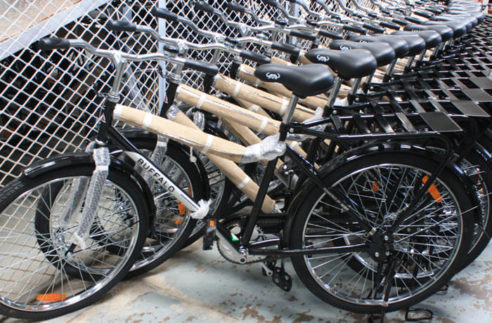 Each bicycle offers complete reliability and safety with a strong rear rack/carrier image